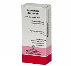 Тардиферон – аналог Пентоксила