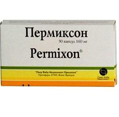 Капсулы Пермиксон 160 мг