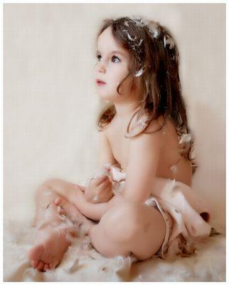 Пример, как фотографировать детей интересно