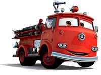 Раскраска машина пожарная