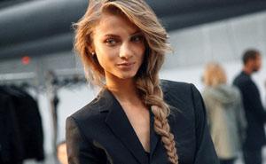 Модные косы на длинные волосы