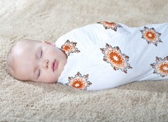 Правильное пеленание новорожденного