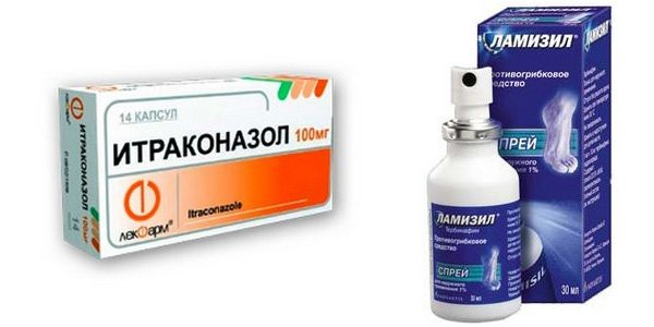 ламизил и итраконазол фото