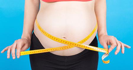 Слишком большая прибавка веса при беременности: что делать?