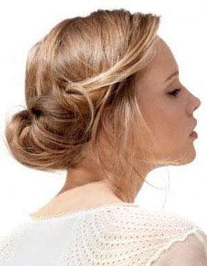 Прическа нежность на средние волосы