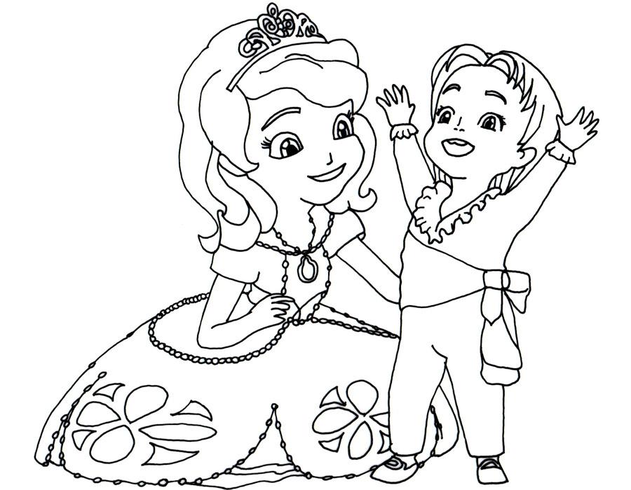 Розмальовки Принцеси Діснея — Zdorovia