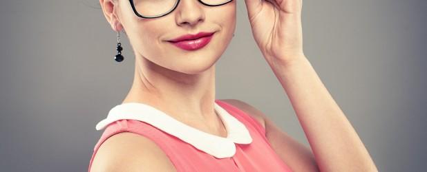 беременная в очках