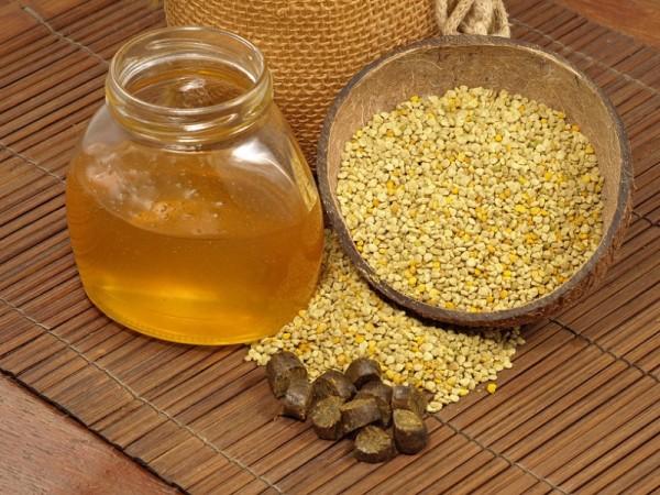 Прополис, перга и мёд
