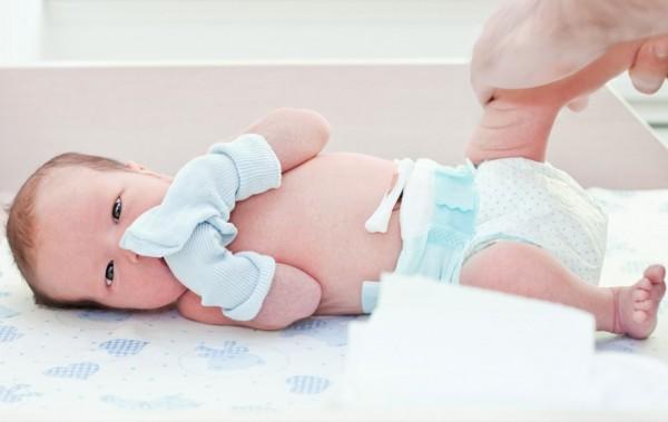 пупок новорожденного