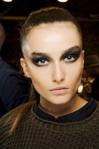 модный макияж осень зима 2014