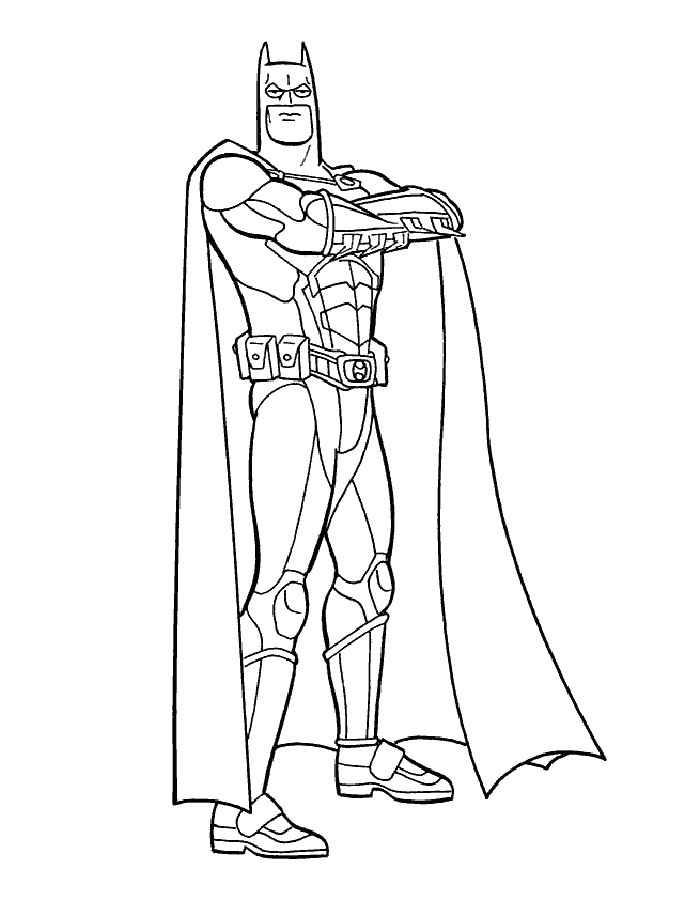 Раскраска Бэтмен