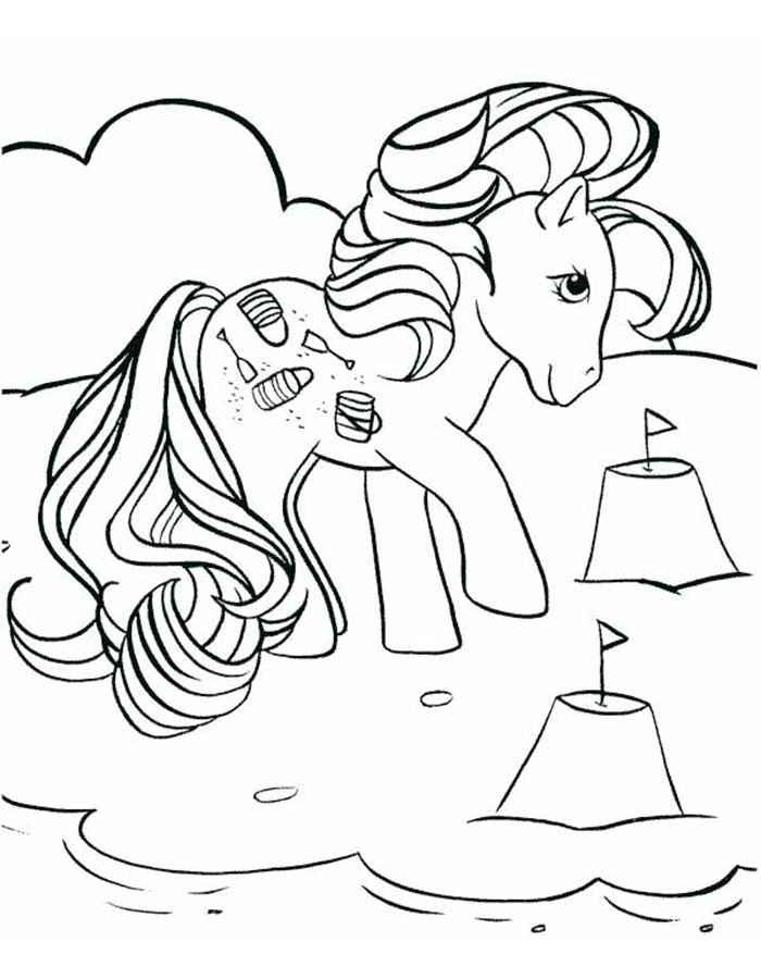 Раскраски Май Литл Пони