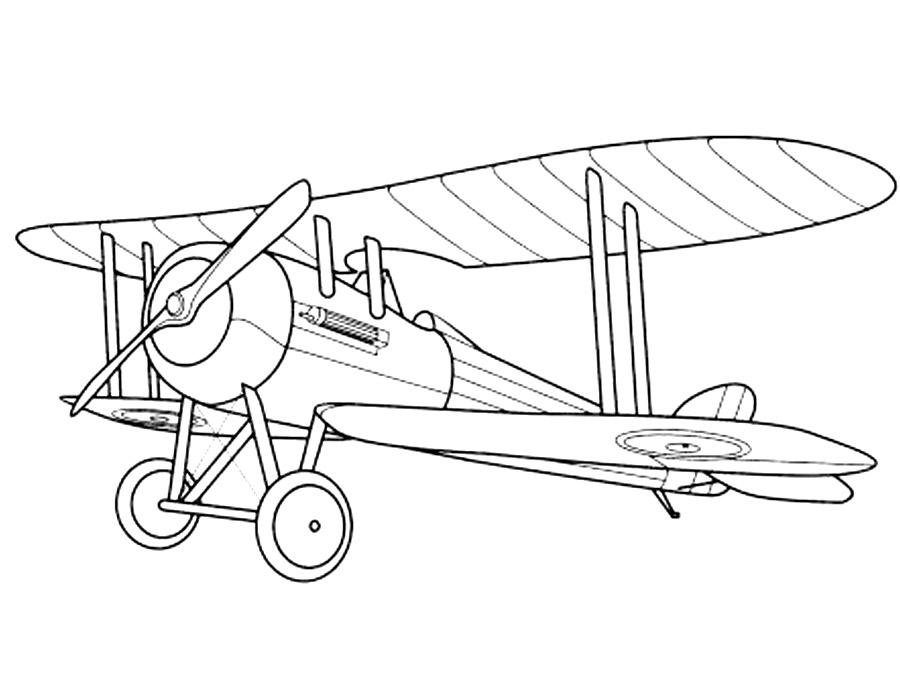 Раскраски самолеты