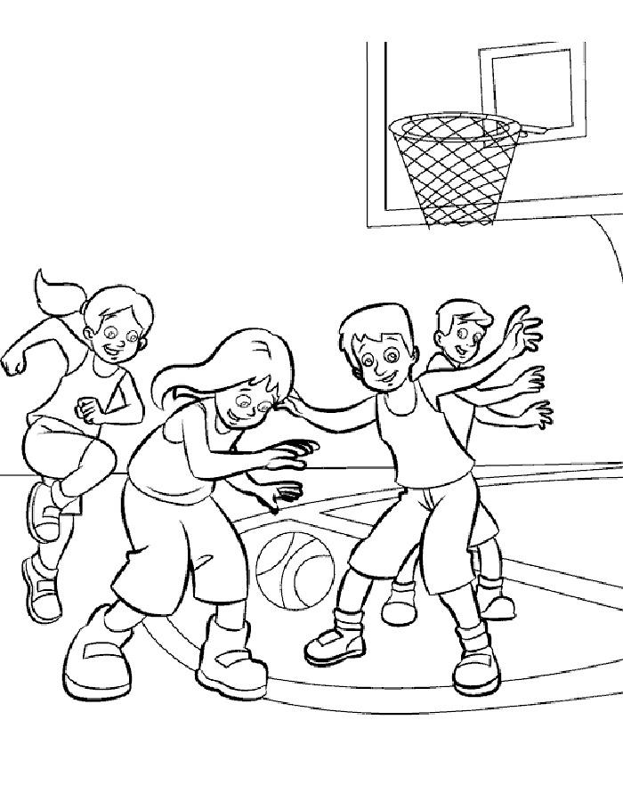 Раскраски спорт