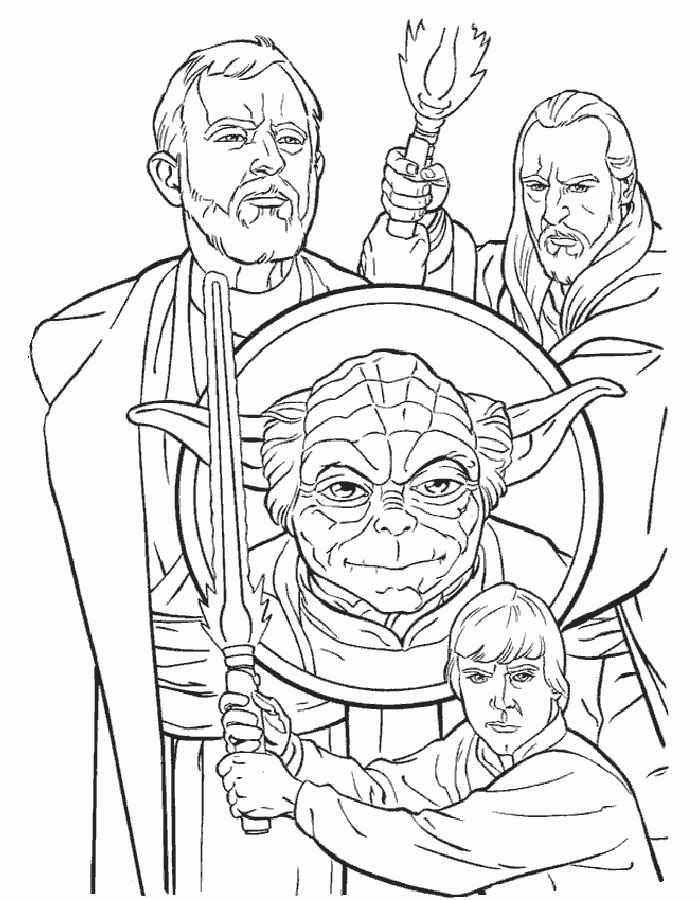 Раскраски Звездные войны