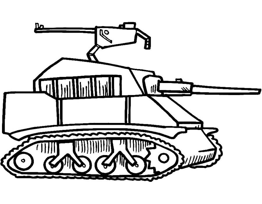 Военная техника раскраски