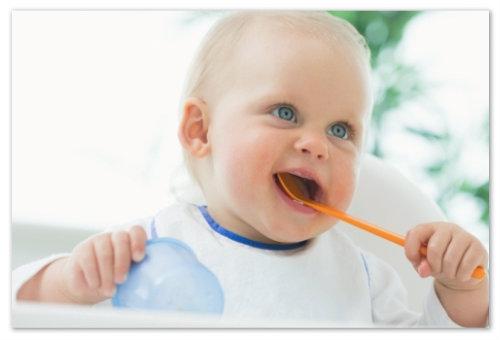 Ребенок хочет есть