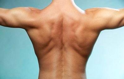 красивая спина