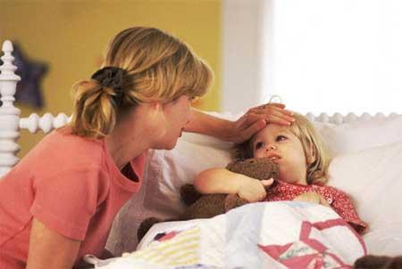 Профилактика простуды у детей в начале зимы