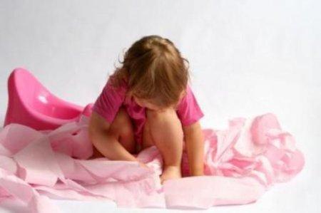 Психологический запор у ребенка, лечение