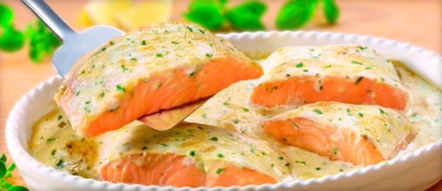 рыбный соус на основе сметаны