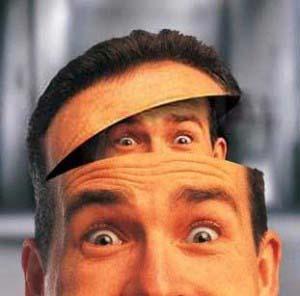 голова, нарушение психики