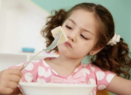 Отсутствие аппетита у ребёнка
