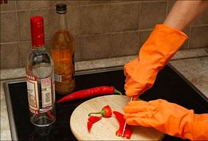 Настойка красного перца со спиртом