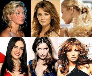 Стильные прически на средние волосы