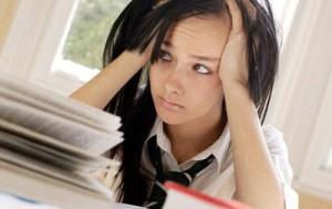 стресс во время сессии