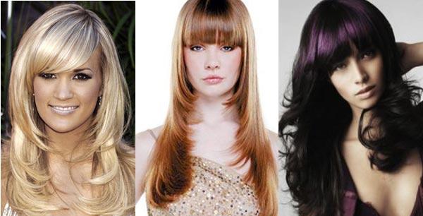 Стрижки на средние волосы для прямоугольного лица