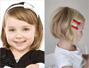Короткие стрижки для девочек