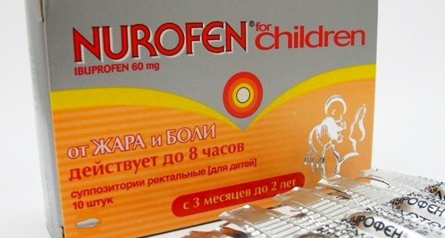 Свечи Нурофен для детей: инструкция по применению
