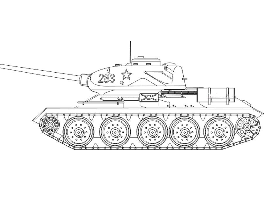 танки розмальовки — Zdorovia
