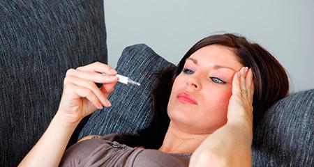Какой должна быть температура при внематочной беременности