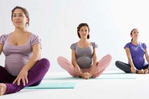 Тренировка дыхания перед родами