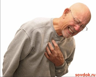 у пожилого мужчины одышка и боль в груди
