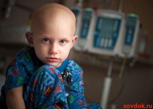 у ребёнка лейкоз