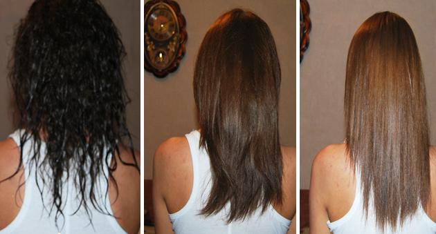 Осветлить темные волосы на тон в домашних условиях