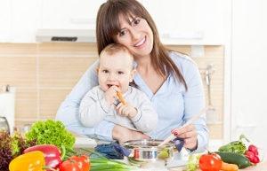 Правильное питание мамы