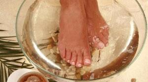 Ванночки от пота и запаха в домашних условиях