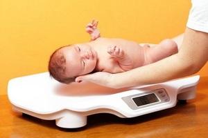 Нормы веса ребенка по месяцам
