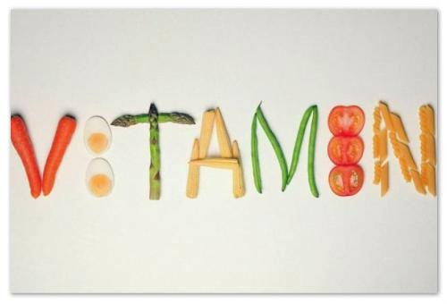 Слово витамин.