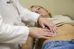 Воспаление кисты яичника