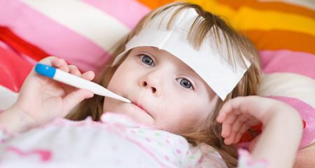 Высокая температура у ребенка: как сбить быстро