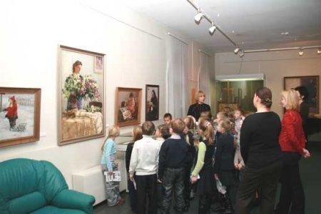 Ознакомление дошкольников с картинами художников