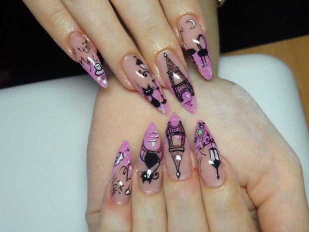Как наращивать ногти на типсы в домашних условиях фото