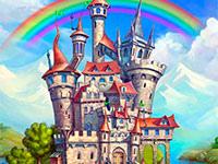 Раскраска замок