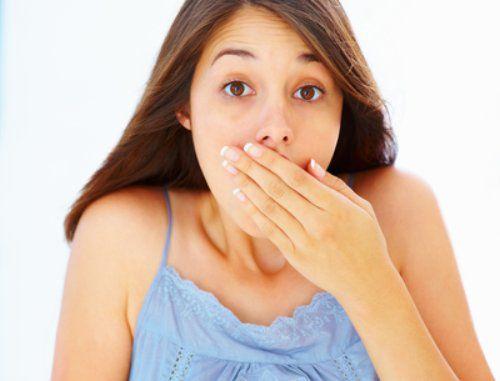 Пациент страдает от зловонного запах