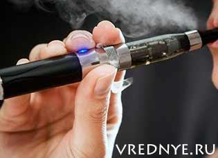 Влияние электронных сигарет на здоровье курильщика